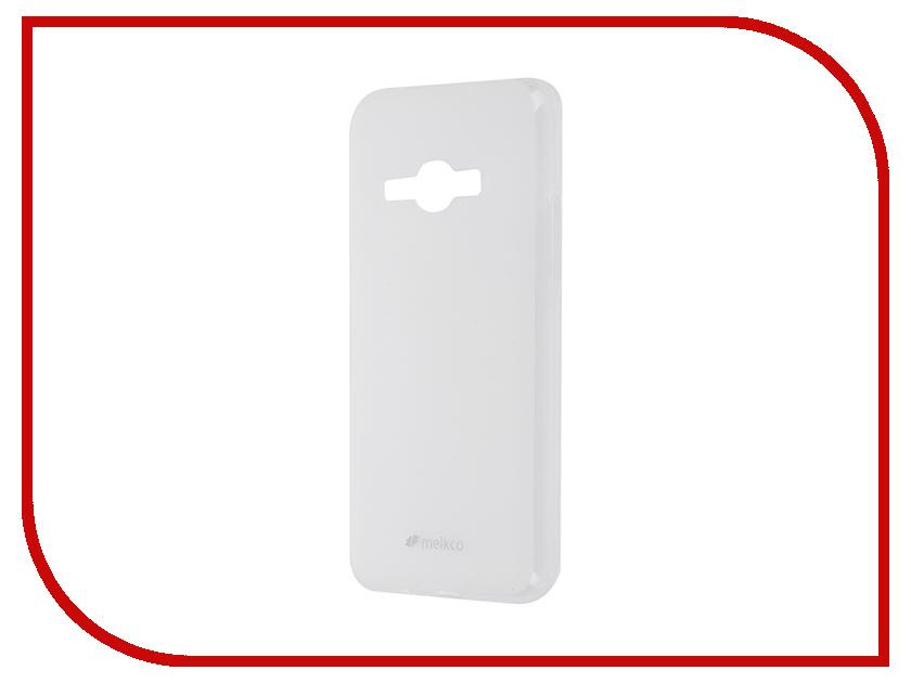 Аксессуар Чехол Samsung Galaxy J1 2016 Melkco TPU Transparent Mat 9836<br>