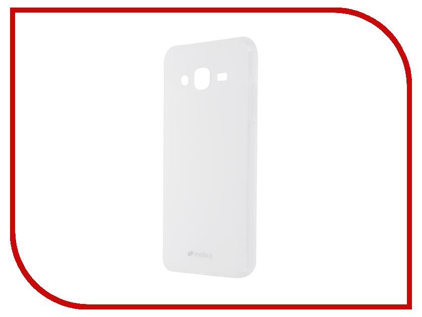 Аксессуар Чехол Samsung Galaxy J3 2016 Melkco TPU Transparent Mat 9838<br>