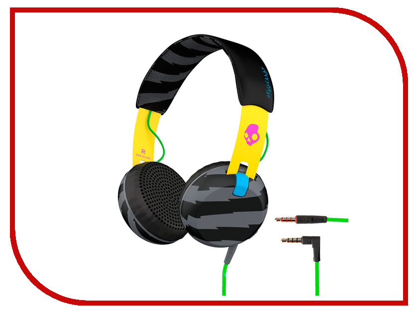 Гарнитура Skullcandy Grind Locals Only Yellow<br>