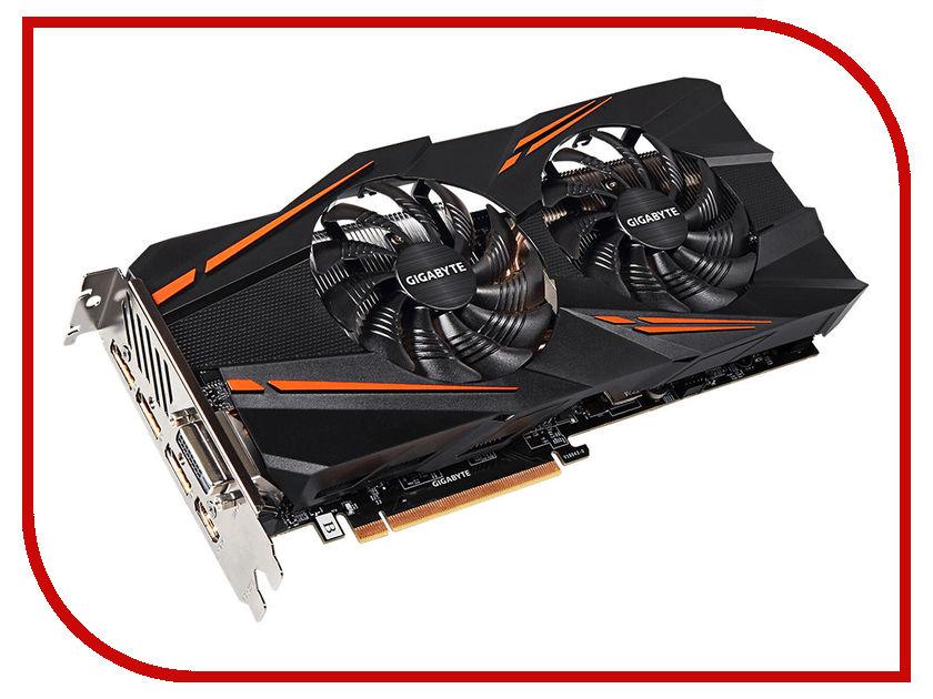 Видеокарта GigaByte GeForce GTX 1070 1582Mhz PCI-E 3.0 8192Mb 8008Mhz 256 bit DVI HDMI HDCP GV-N1070WF2OC-8GD видеокарта gigabyte 8192mb rx 580 gv rx580gaming 8gd 3xdp hdmi dvi ret