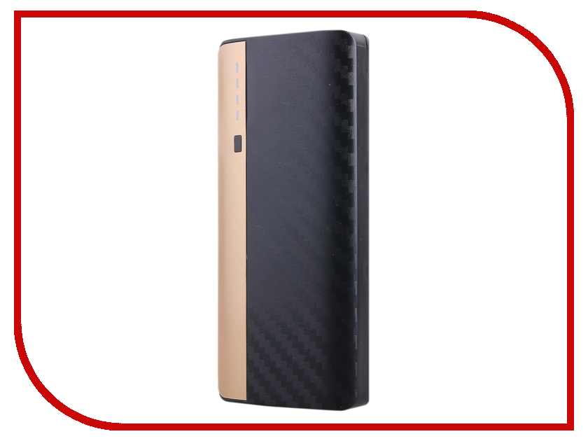 Аккумулятор Activ PB10-01 10000 mAh Carbon Black-Gold SBS10000MAH 52783<br>