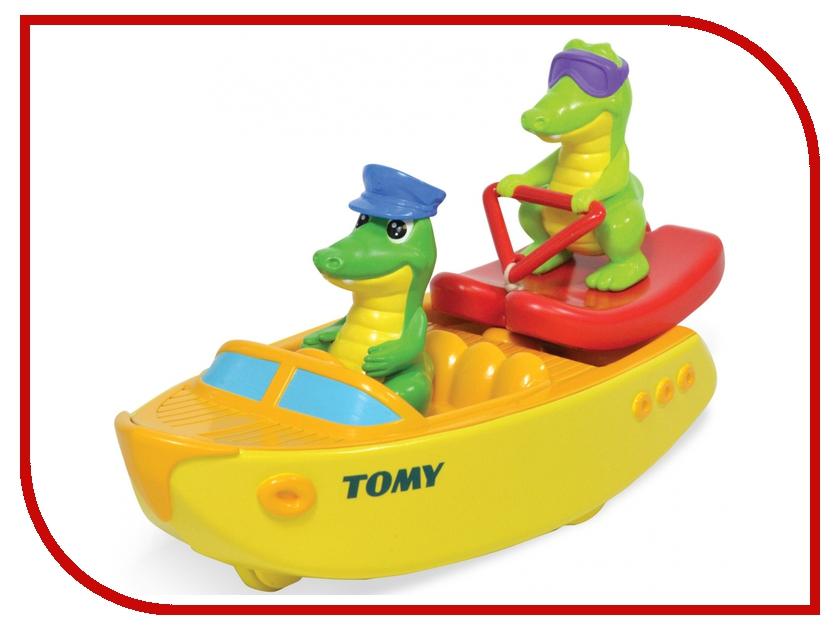 игрушка Tomy Крокодил на лодке E72358 / ТО72358