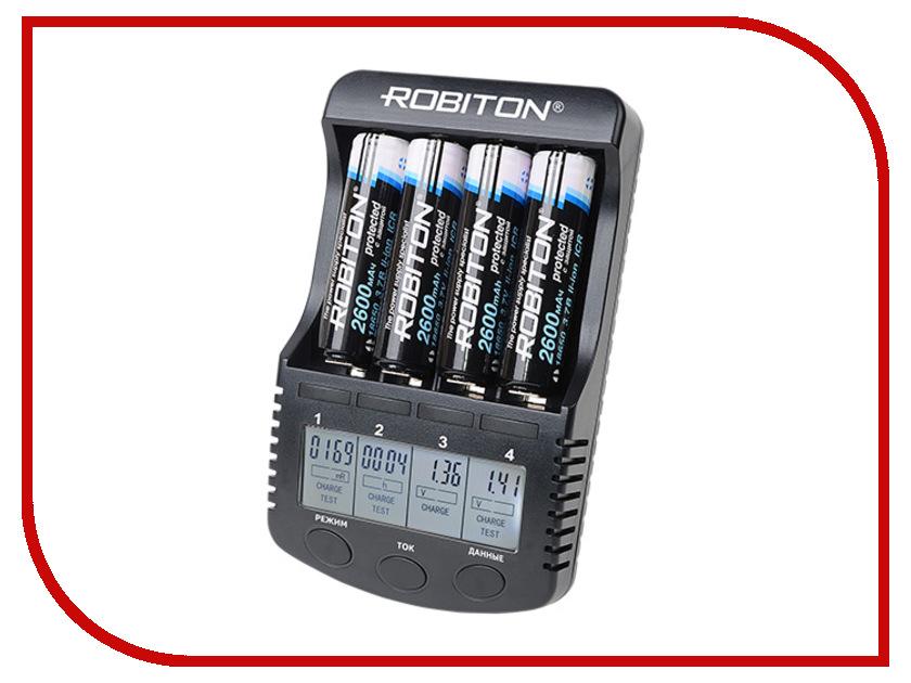 Зарядное устройство Robiton MasterCharger Pro зарядное устройство robiton smartcharger iv bl1