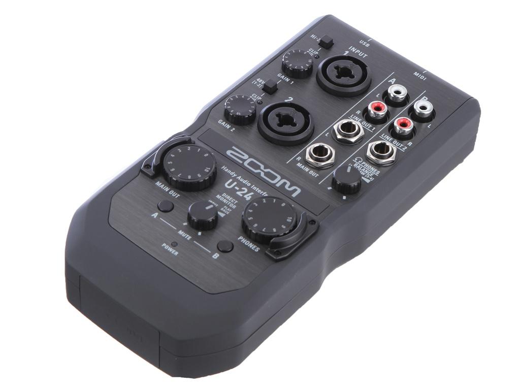 Аудиоинтерфейс Zoom U-24