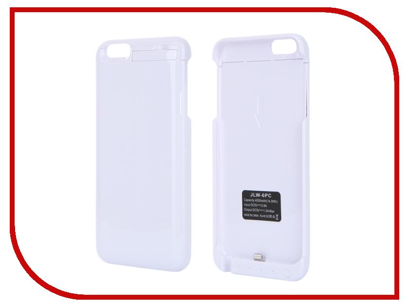 ��������� �����-����������� Aksberry 6PC 4000 mAh ��� iPhone 6 Plus White