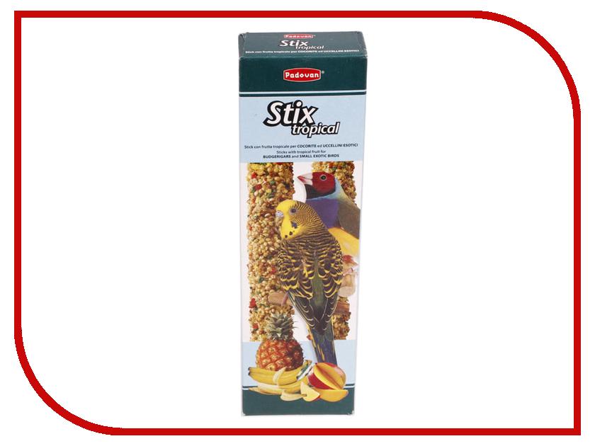 Padovan Stix Tropical Cocorite / Esotici Лакомые палочки с тропическими фруктами 60g для экзотических птиц