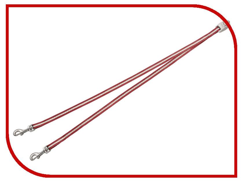 Поводок FLEXI Vario S для двух собак Red 279.598 leica vario x