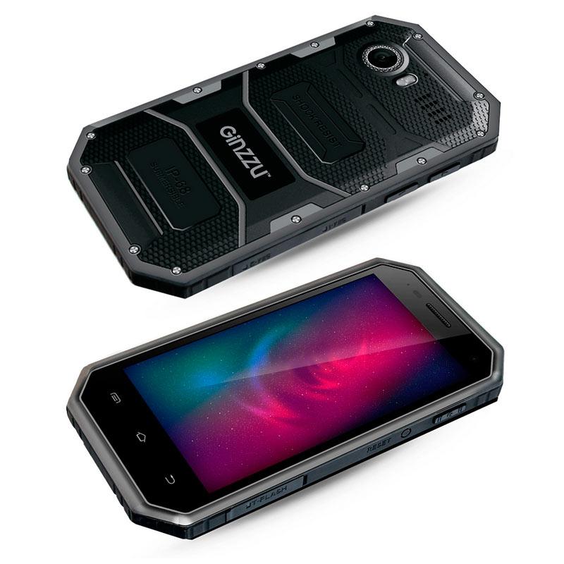 Сотовый телефон Ginzzu RS81D Black сотовый телефон vertex impress tor black orange