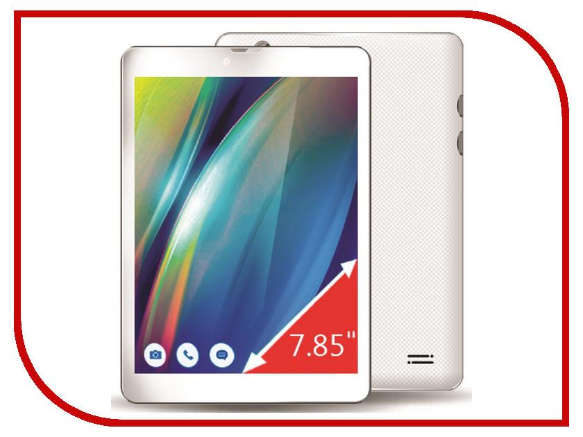 Планшет Ginzzu GT-7810 White (Intel Atom x3-C3230RK 1.0 GHz/1024Mb/8Gb/GPS/3G/Cam/7.85/1024x768/Android)<br>