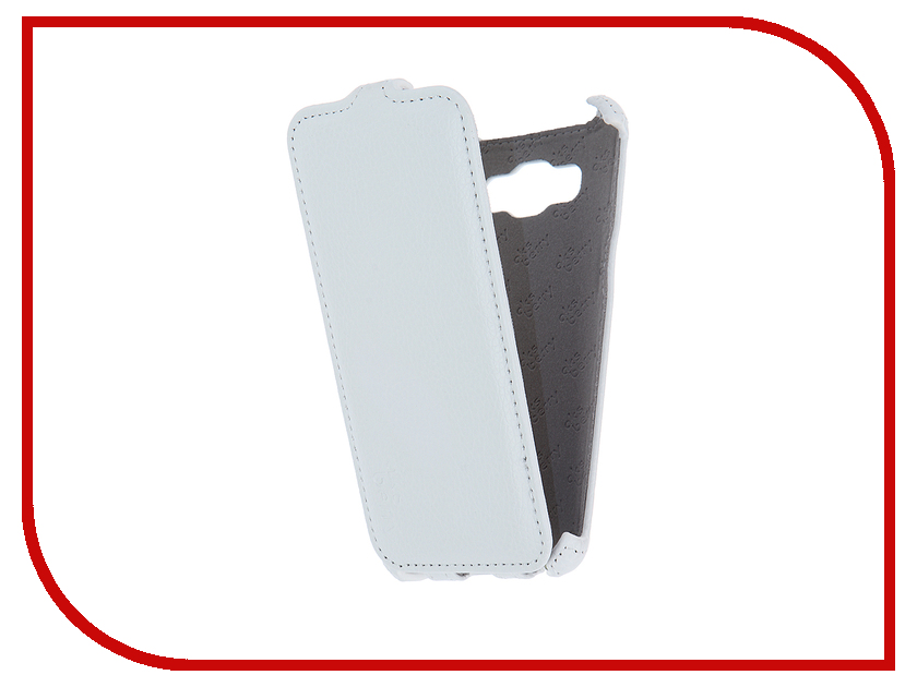 Аксессуар Чехол Samsung SM-J510F/DS Galaxy J5 2016 Aksberry White<br>