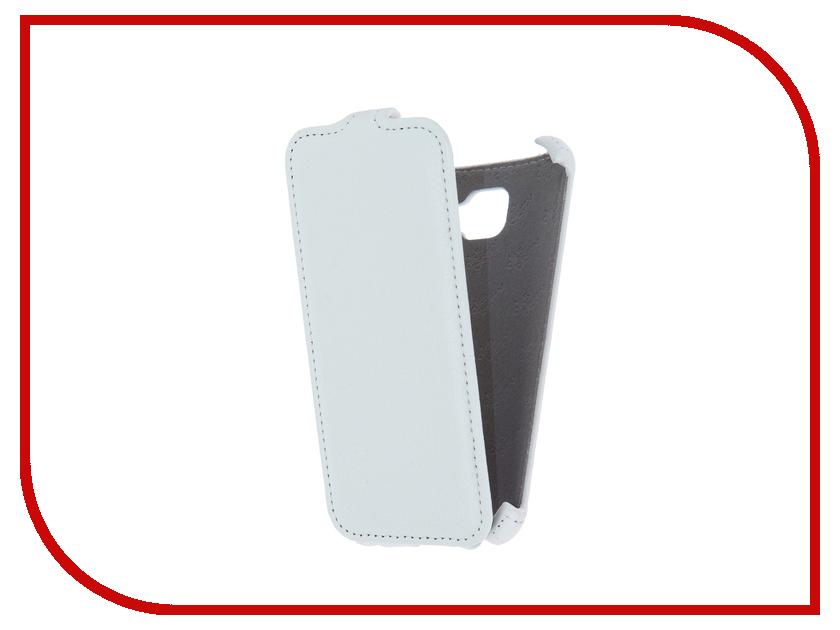 купить Аксессуар Чехол Samsung SM-A310F Galaxy A3 2016 Aksberry White недорого