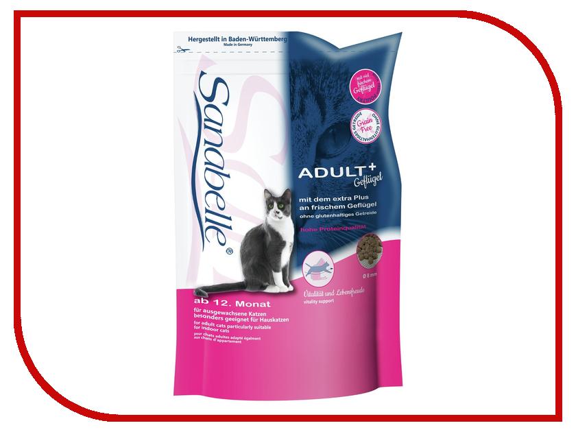 Корм Bosch Tiernahrung GmbH&amp;Co Эдалт-Санабель Птица 0.4kg для кошек 004596/9836<br>
