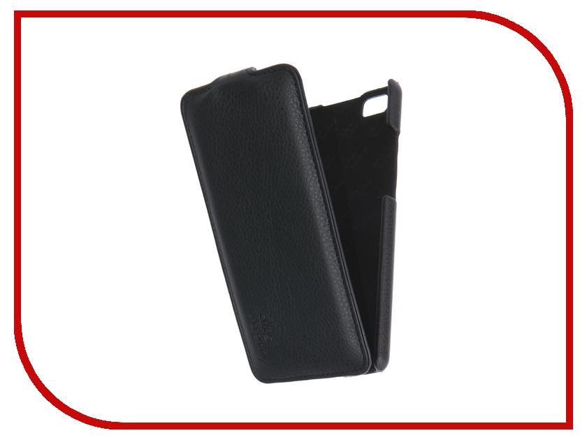 Аксессуар Чехол Huawei Ascend P8 Lite Aksberry Black