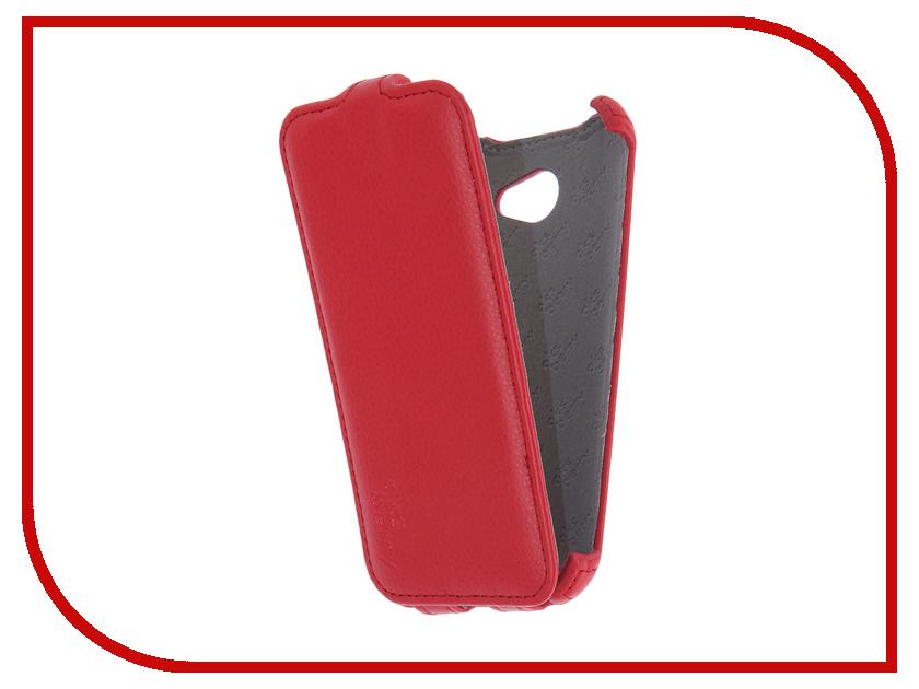 Аксессуар Чехол LG X220DS K5 3G Aksberry Red флип кейс aksberry для lg k5 красный