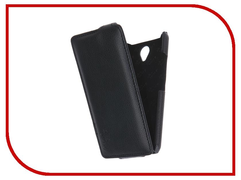 Аксессуар Чехол Lenovo A5000 Aksberry Black аккумулятор lenovo pb200 5000