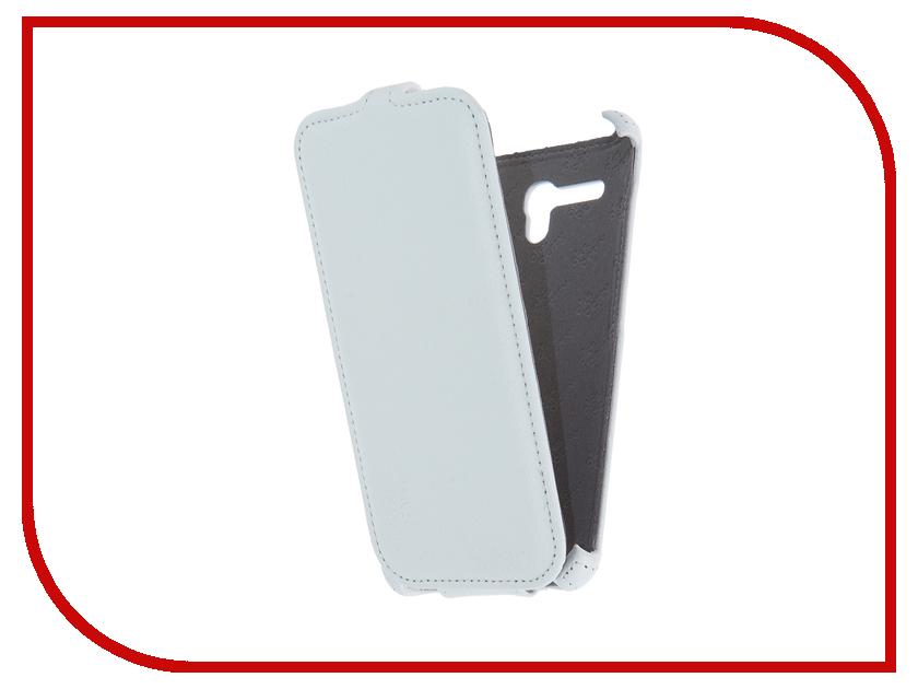 Аксессуар Чехол Alcatel 5025D Pop 3 5.5 Aksberry White