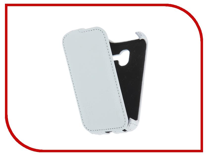 Аксессуар Чехол Alcatel 4009/4009D Pixi 3 3.5 Aksberry White