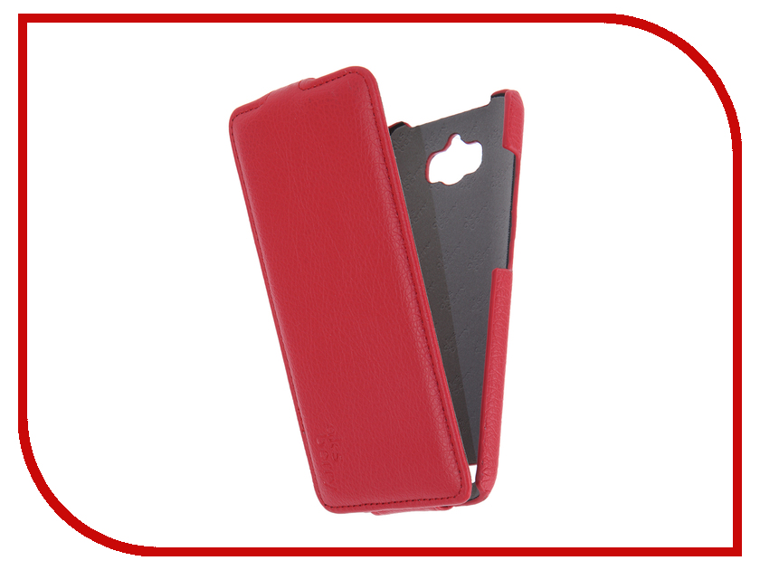 Аксессуар Чехол ASUS ZenFone Max ZC550KL Aksberry Red<br>