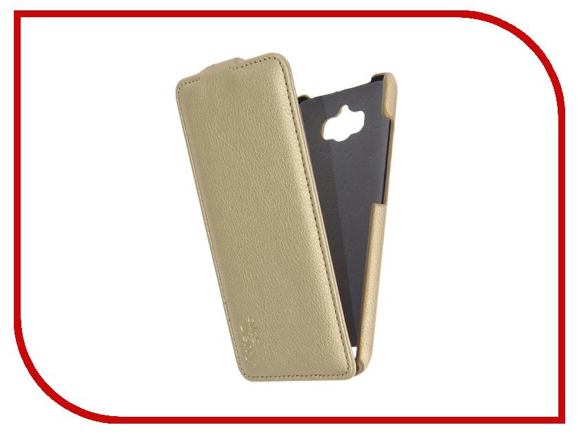 Аксессуар Чехол ASUS ZenFone Max ZC550KL Aksberry Gold<br>