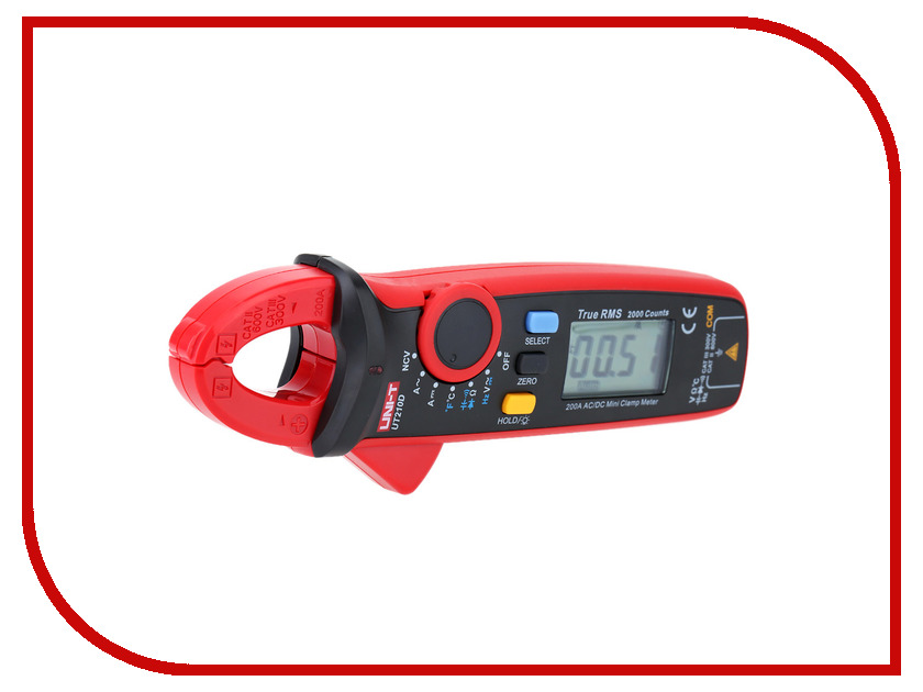 Токовые клещи UNI-T UT210D uni t ut139a true rms digital multimeter auto manual range ac dc amp volts ohm tester with data hold ncv and battery test
