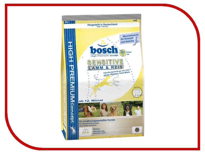 Корм Bosch Tiernahrung Сенситив Ягненок/Рис 3kg для собак 000895<br>