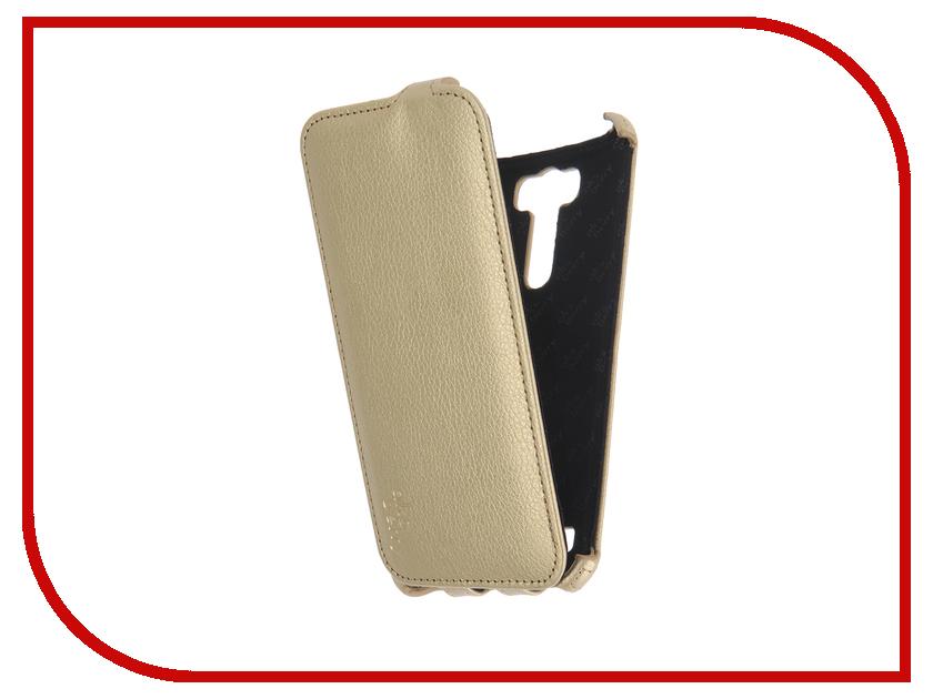 Аксессуар Чехол ASUS ZenFone 2 Laser ZE601KL Aksberry Gold<br>