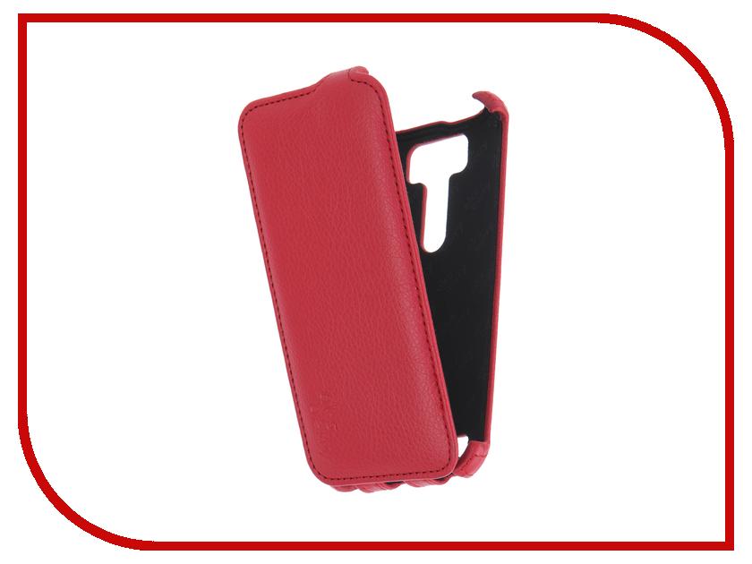 Аксессуар Чехол ASUS ZenFone 2 Laser ZE500KL Aksberry Red<br>