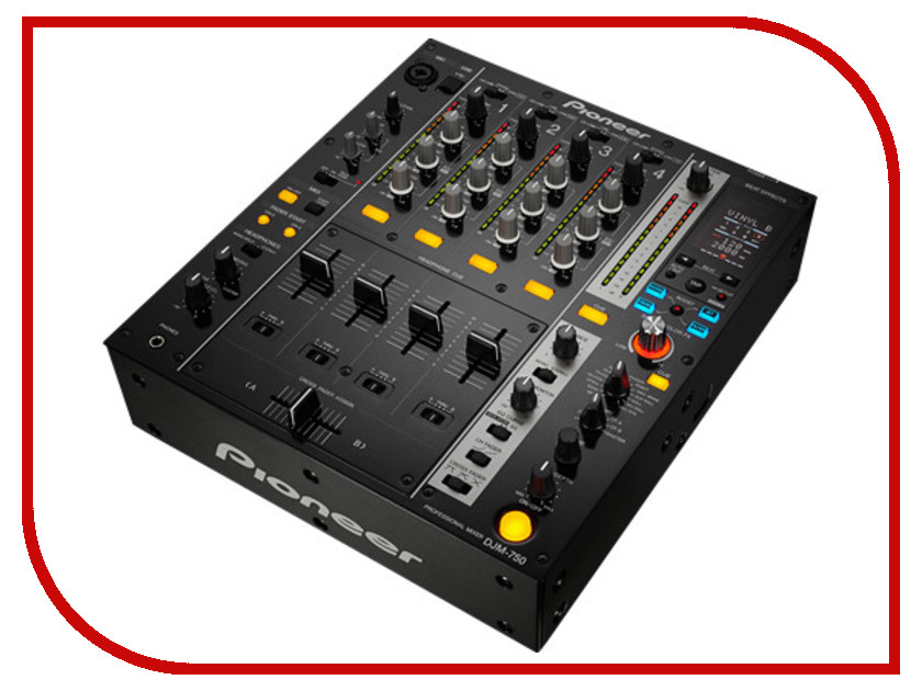Пульт Pioneer DJM-750 Black