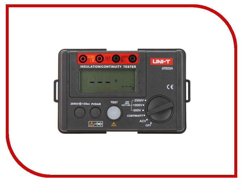 Мультиметр UNI-T UT502A original uni t mini handheld digital multimeters ut136b auto range current voltage measure tools frequency resistance tester