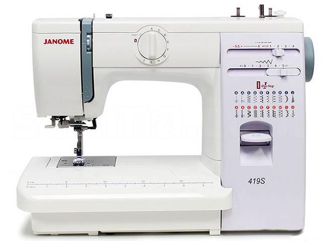 Швейная машинка Janome 419S / 5519 все цены