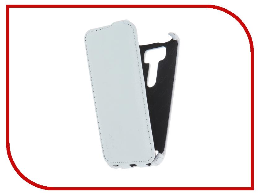 Аксессуар Чехол ASUS ZenFone 2 Laser ZE500KL Aksberry White<br>