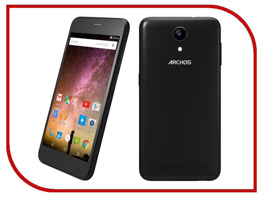 Сотовый телефон Archos 50 Power Black сотовый телефон archos 55 cobalt plus dark grey
