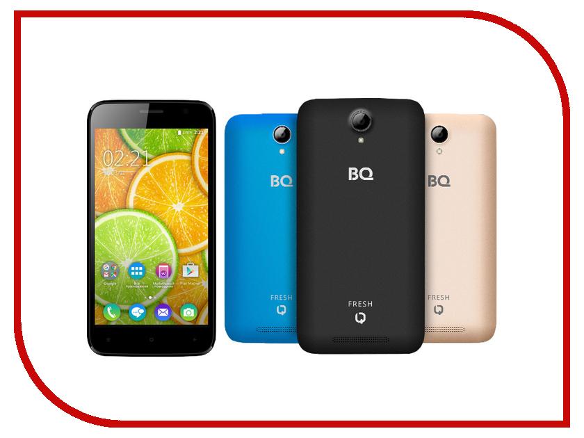 Сотовый телефон BQ BQS-5030 Fresh Black / Blue / Gold<br>