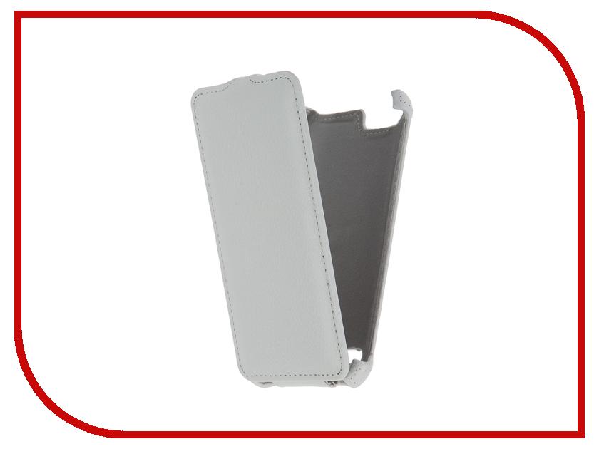 Аксессуар Чехол Lenovo Vibe K5/K5 Plus A6020 Gecko White GG-F-LENVIBEK5-WH аксессуар защитная пленка lenovo vibe k5 k5 plus a6020 5 red line матовая