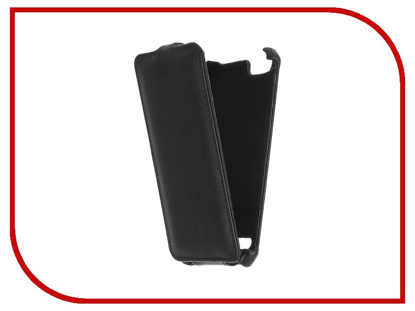 Аксессуар Чехол Lenovo Vibe K5/K5 Plus A6020 Gecko Black GG-F-LENVIBEK5-BL protect защитная пленка для lenovo vibe c2 k10a40 матовая
