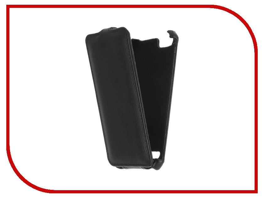 Аксессуар Чехол Lenovo Vibe K5/K5 Plus A6020 Gecko Black GG-F-LENVIBEK5-BL аксессуар защитная пленка lenovo vibe k5 k5 plus a6020 5 red line матовая