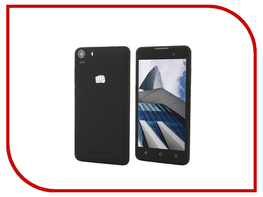 Сотовый телефон Micromax Q334 Canvas Magnus Black<br>