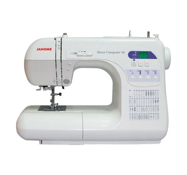 Швейная машинка Janome Decor Computer 3050 / 50