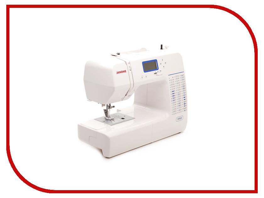 Швейная машинка Janome 9953 минеральный дезодорант твердый 60 г
