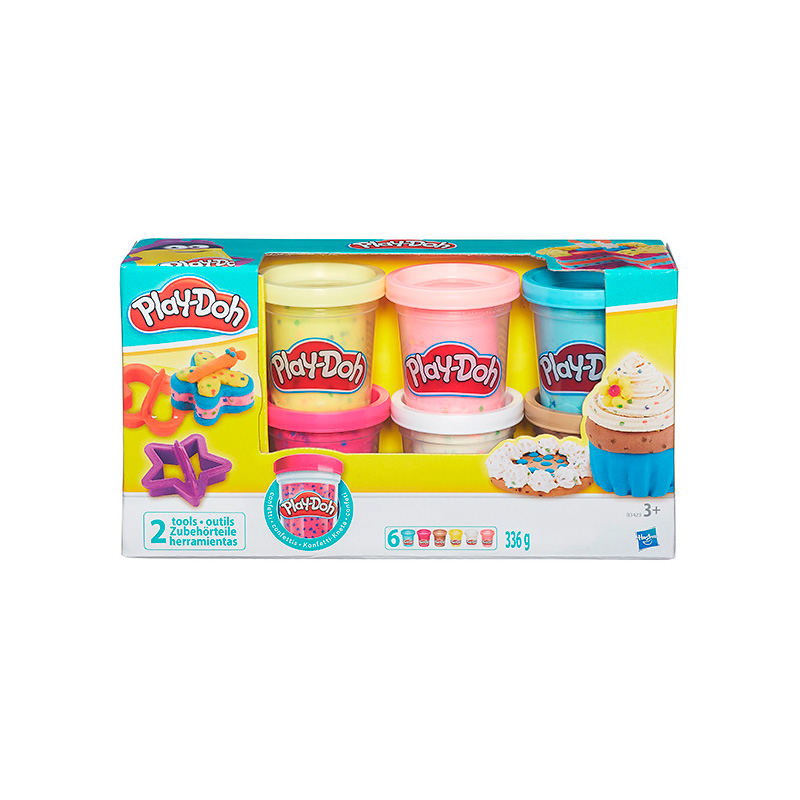 Игрушка Hasbro Play-Doh PLAY-DOH B3423 hasbro play doh tootie the unicorn ice cream set with 3 non toxic colors featuring play doh color swirl compound
