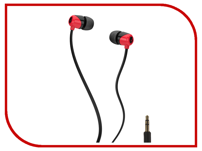 Наушники Skullcandy Jib Red Black S2DUHZ-335<br>