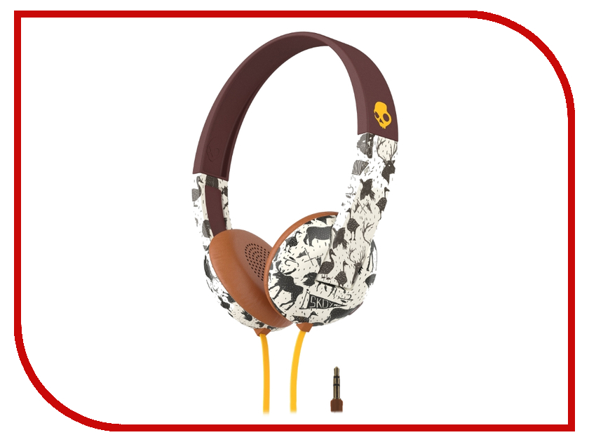 Наушники Skullcandy Uproar Explore Animal Mustard S5URHT-452<br>