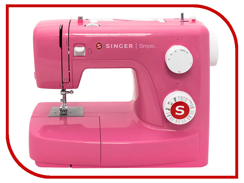 Швейная машинка Singer Simple 3223 Red lacy plus s2941602 3223 3225
