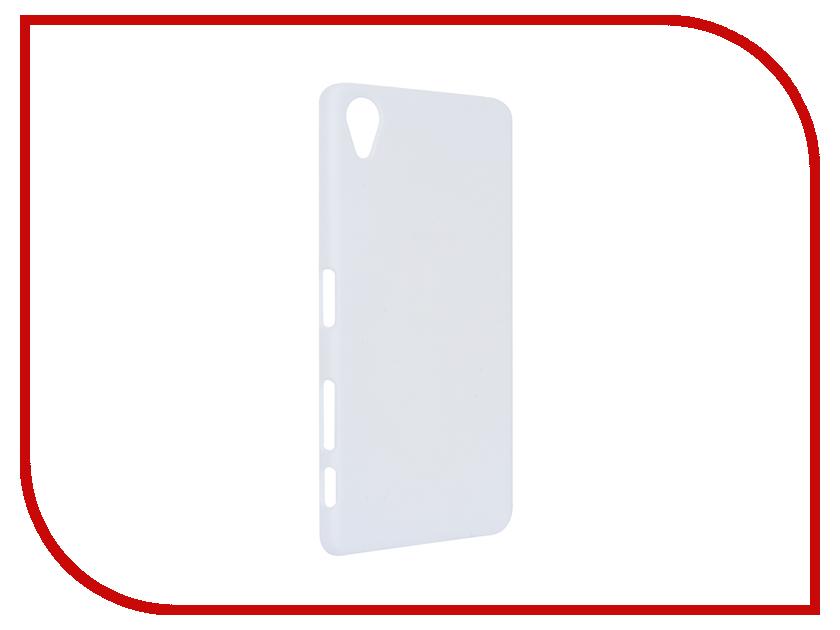 Аксессуар Чехол Sony Xperia X BROSCO пластиковый White X-SOFTTOUCH-WHITE<br>
