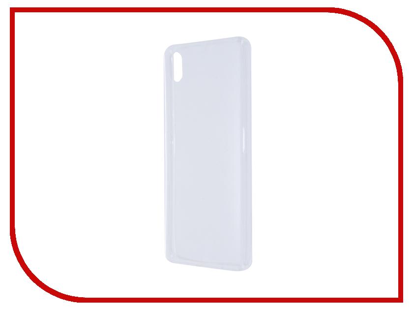 Аксессуар Чехол Sony Xperia X BROSCO Transparent X-TPU-TRANSPARENT<br>