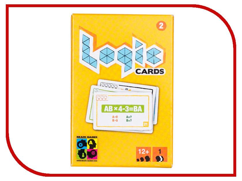 Настольная игра Brain Games Логические карточки 2 brave new brain
