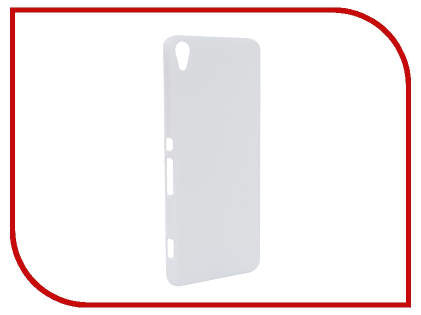 Аксессуар Чехол Sony Xperia XA BROSCO White XA-SOFTTOUCH-WHITE<br>