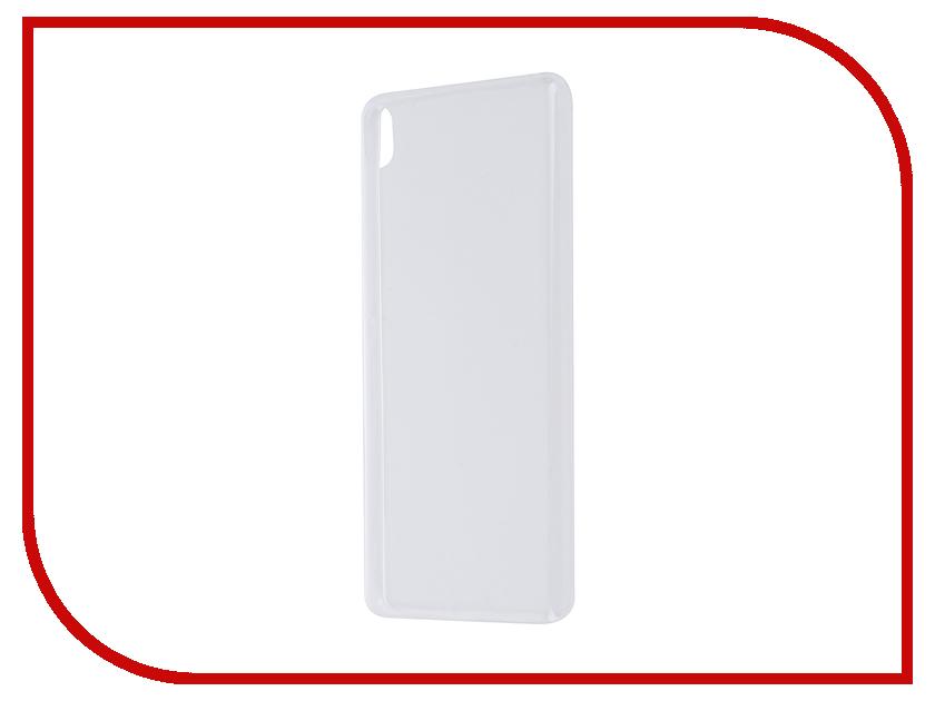 Аксессуар Чехол Sony Xperia XA BROSCO Transparent XA-TPU-TRANSPARENT