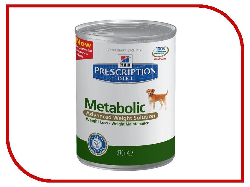 Корм Hills Metabolic Диета для коррекции веса 370g для собак 2101 корм для кошек hill s metabolic urinary для коррекции веса урология сух 250г