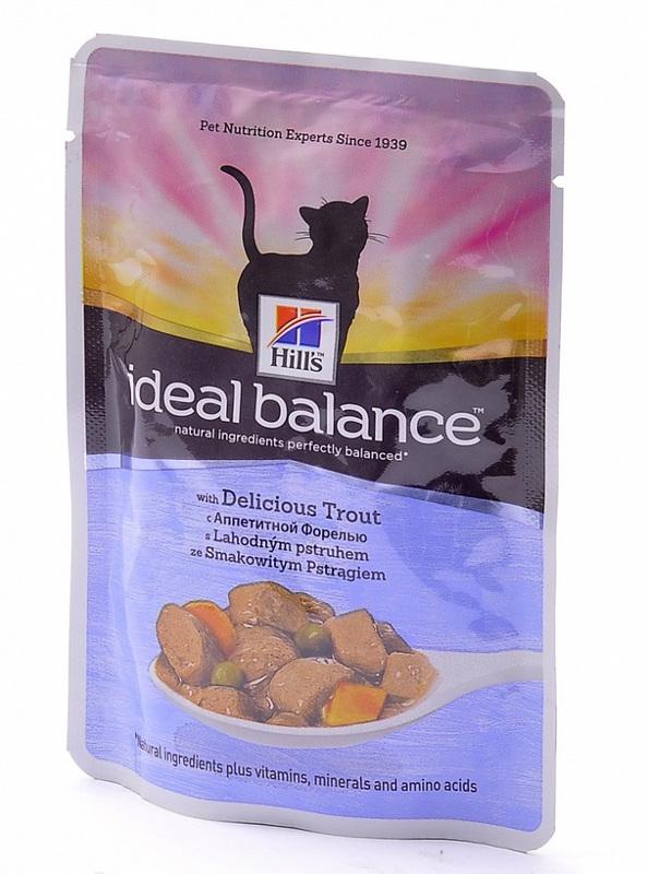Корм Hills Аппетитная Форель 85g для кошек 10026
